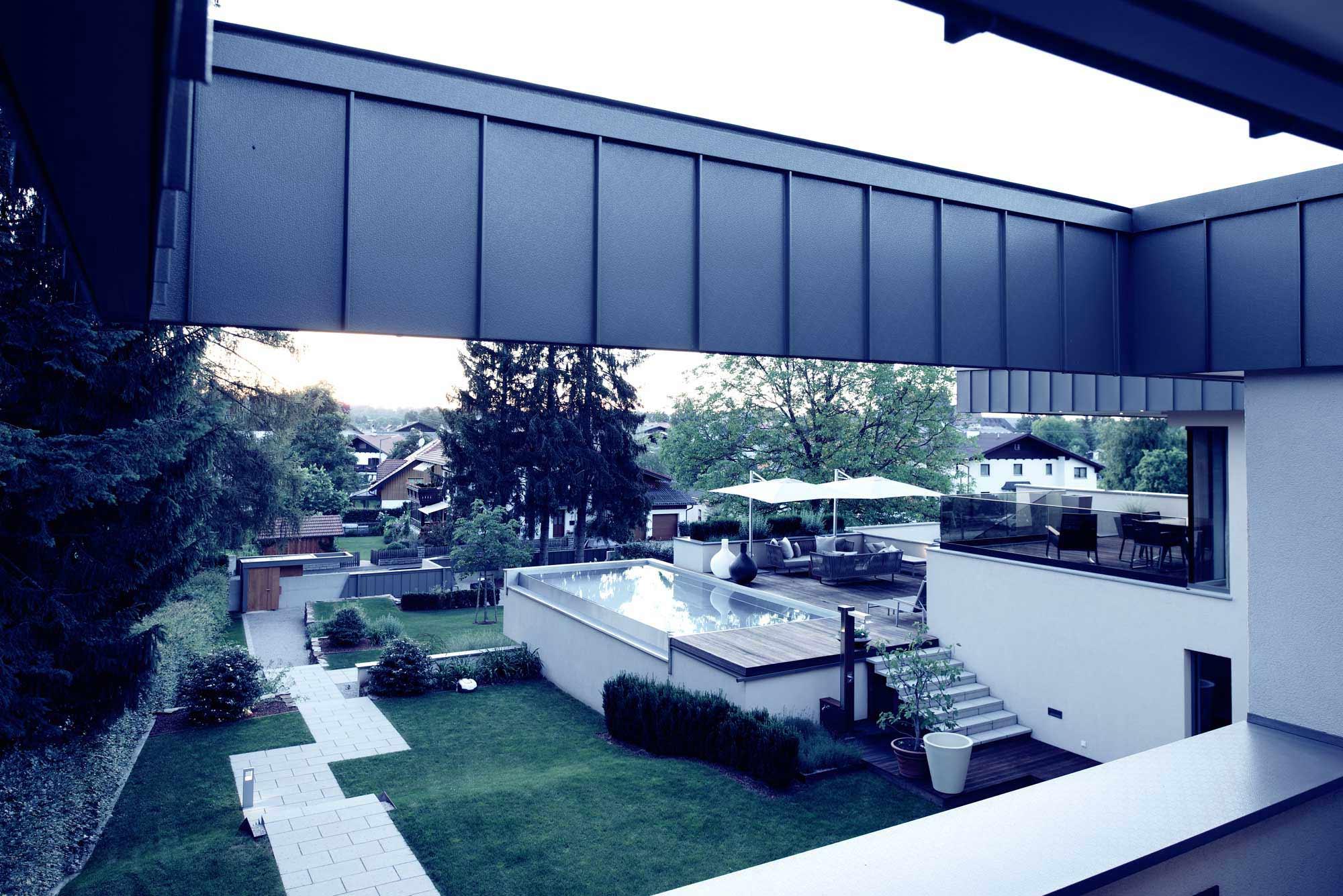 HausNorz Ansicht Terrasse