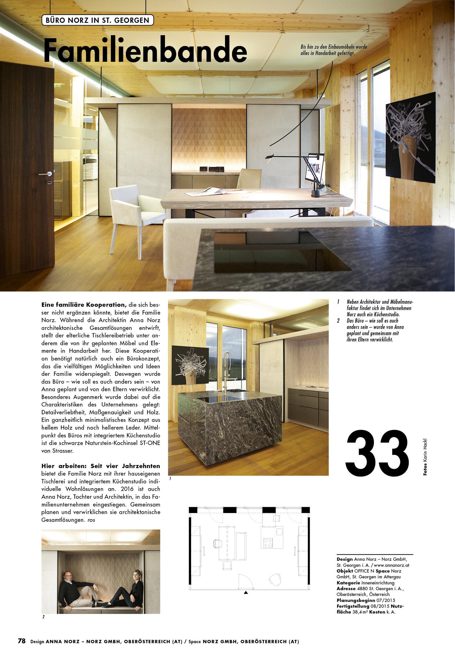 Norz im 100 Häuser Magazin