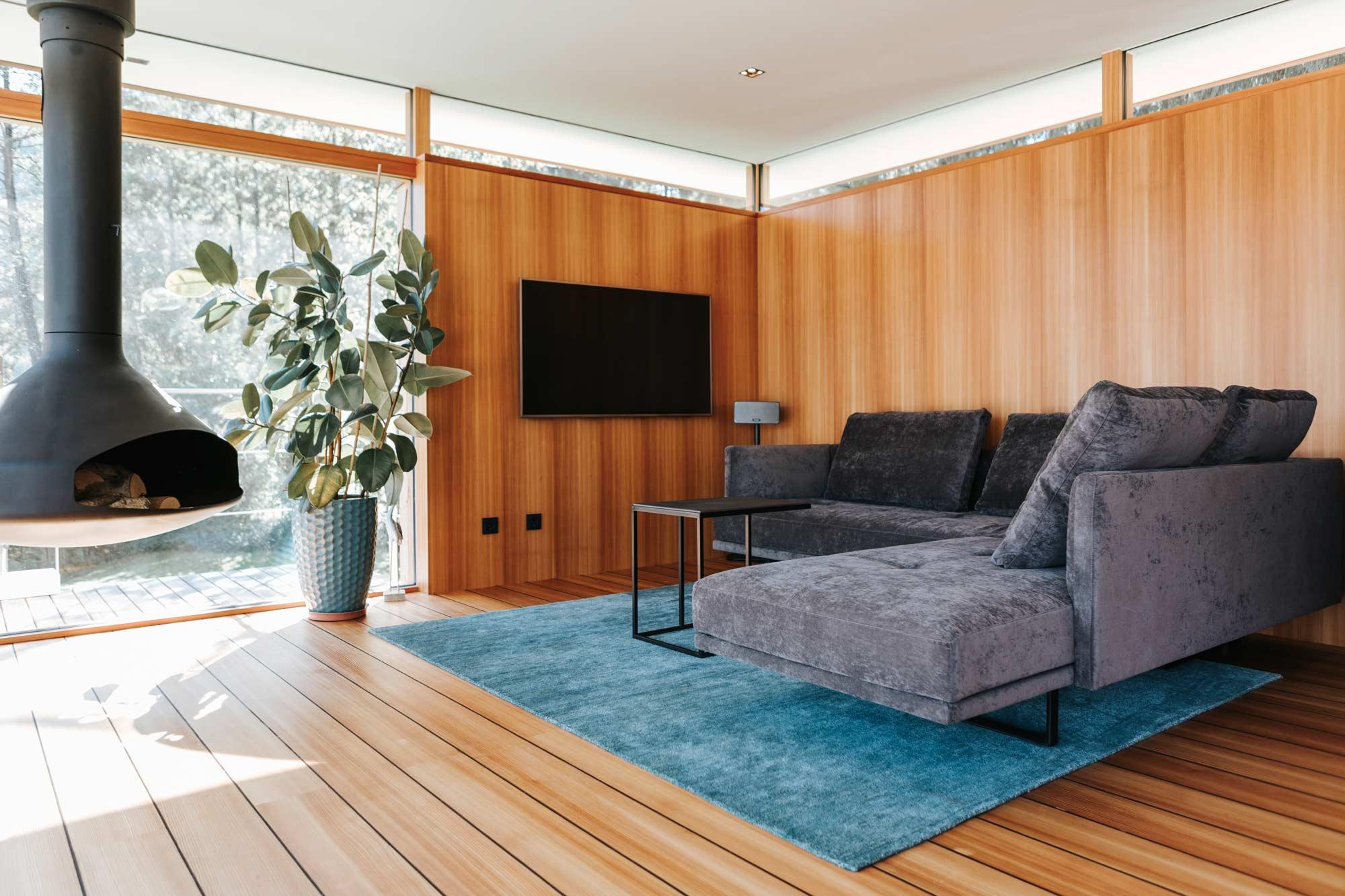 Bootshaus Wohnzimmer Sofa von Arketipo