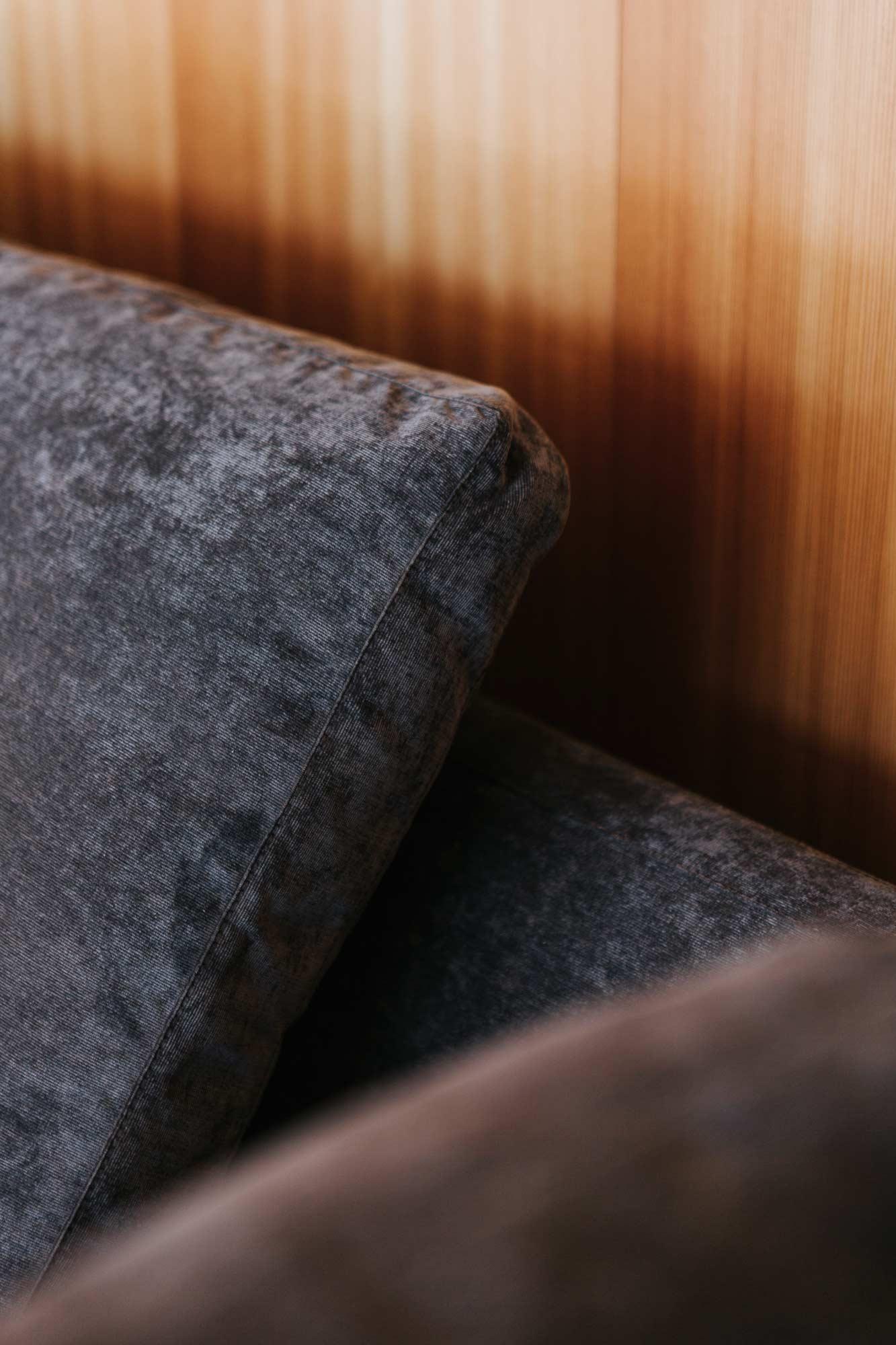 Bootshaus Wohnzimmer Sofa von Arketipo Detail
