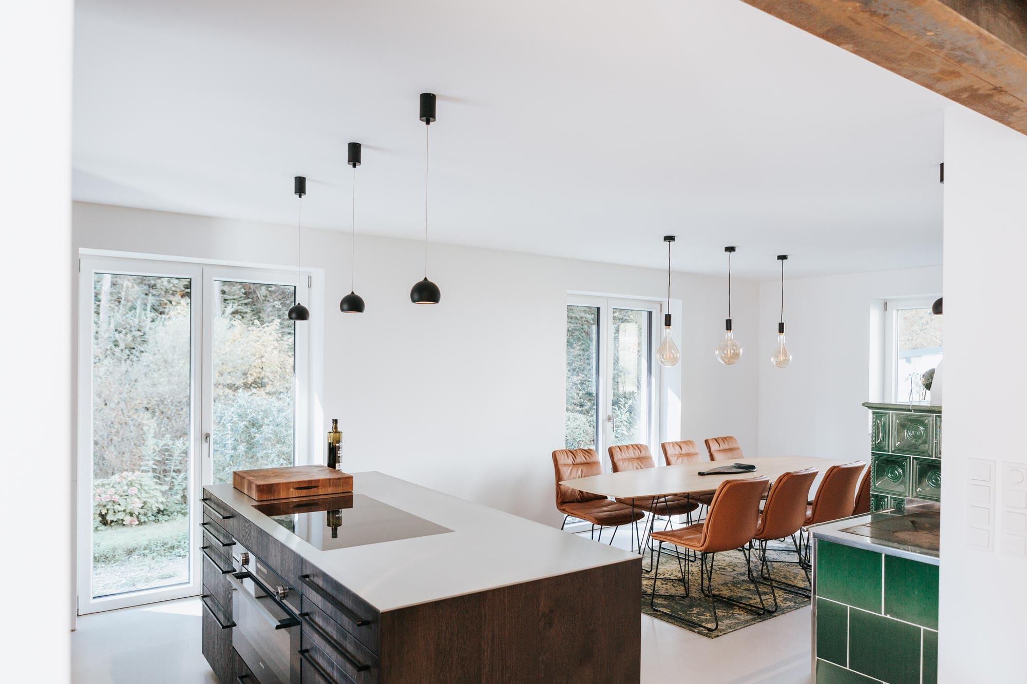 Essplatz Blick von Küche