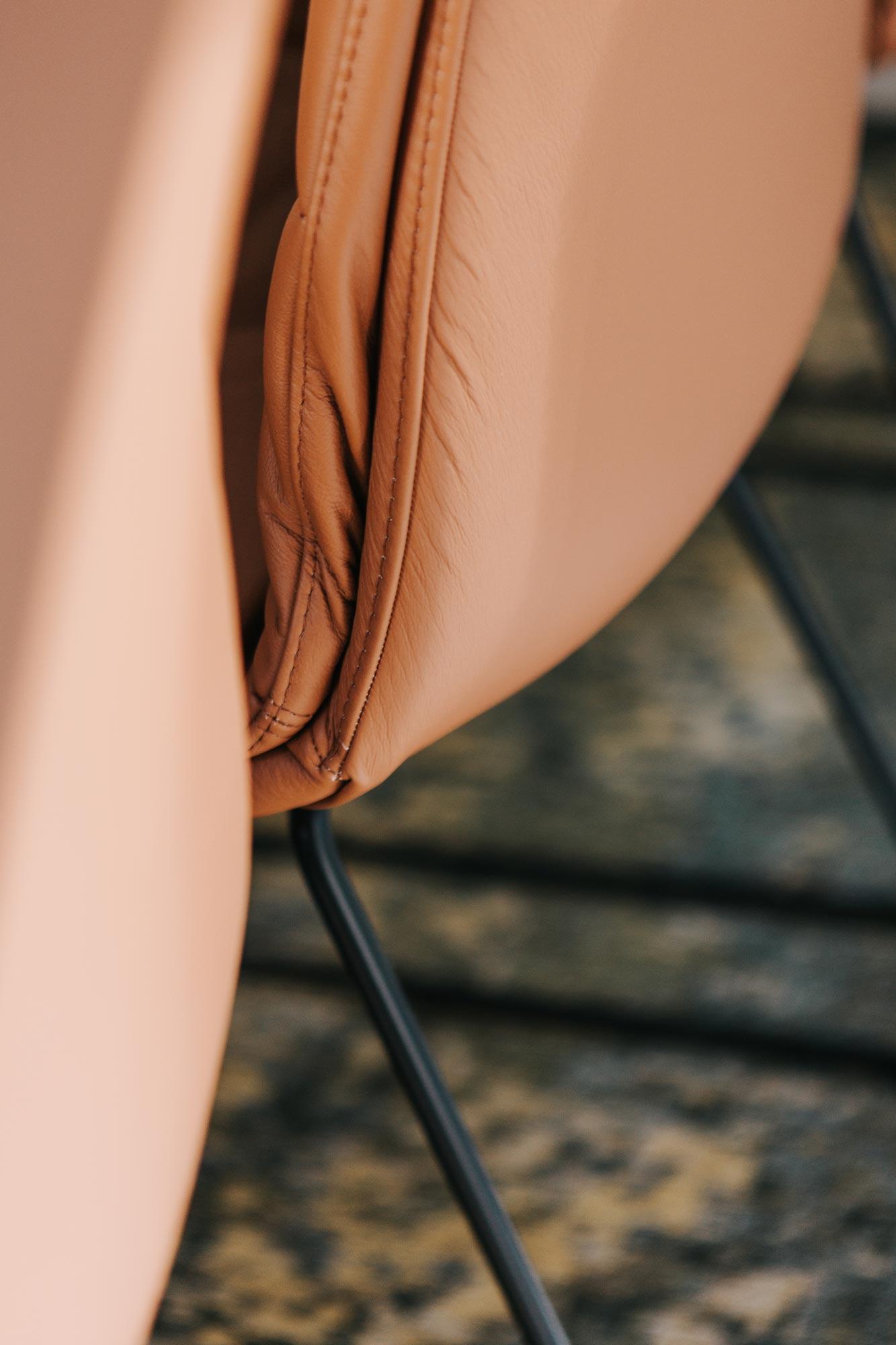 Essplatz Stühle von Walter Knoll, Detail