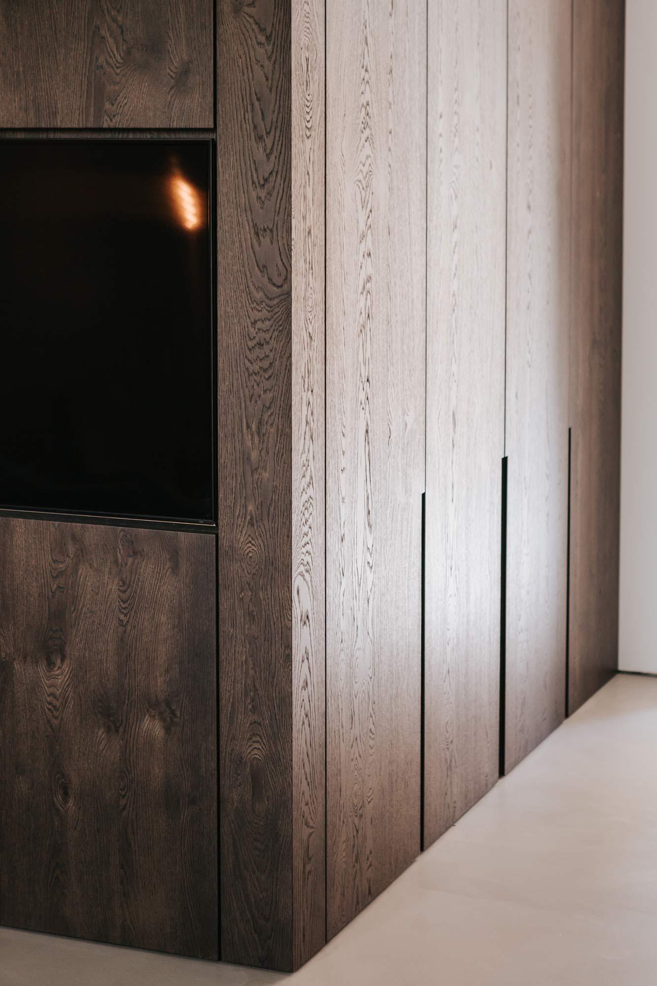 Wandverbau B Garderobe und Stauraum