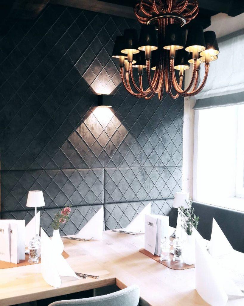Einrichtung von Norz für Gasthaus Kiener